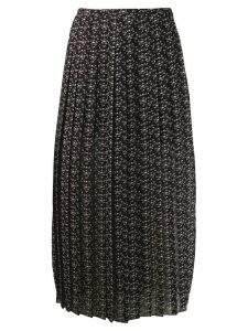 See By Chloé Micro Bisou print skirt - Black