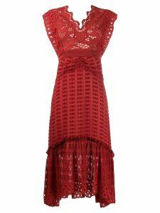Three Floor Blaze dress - Red