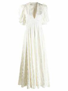Zadig & Voltaire Flower Robe longue dress - White