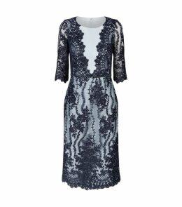 Embellished Lace Dress