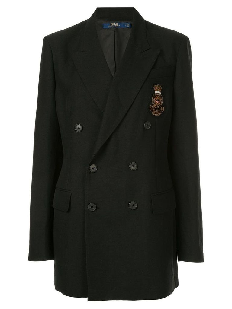 Polo Ralph Lauren longline blazer - Black