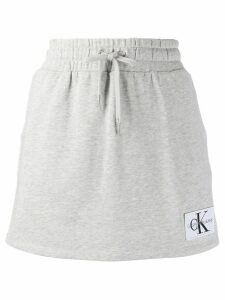 Calvin Klein Jeans casual a-line skirt - Grey