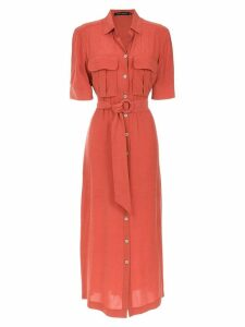 Andrea Marques midi shirt dress - Orange