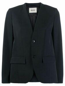 Zucca fitted blazer - Black