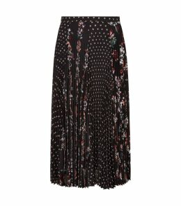 Poppy Jurassic Garden Midi Skirt