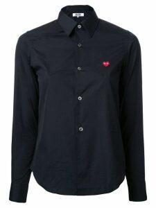 Comme Des Garçons Play embroidered logo shirt - Black