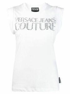 Versace Jeans studded logo T-shirt - White