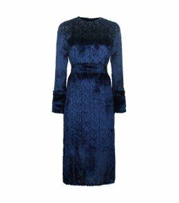 Silk Textured Dress