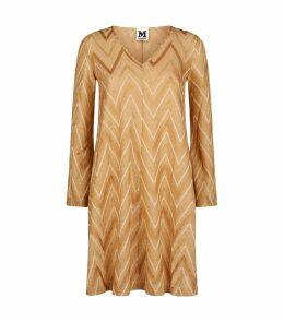 Zig Zag Lurex Dress