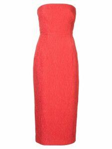 Rebecca Vallance Francesca strapless midi dress - PINK
