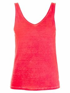 Majestic Filatures hand-dyed tank top - Red