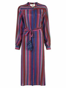 Figue Elena striped midi dress - Multicolour
