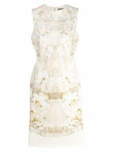 Alexander McQueen Pale Ophelia midi dress - Neutrals