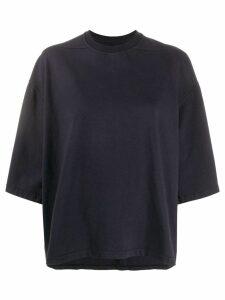 Rick Owens DRKSHDW short sleeve sweatshirt - Blue