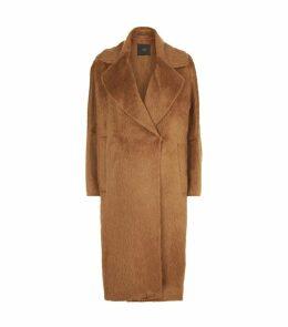 Alpaca Wool Oversized Coat