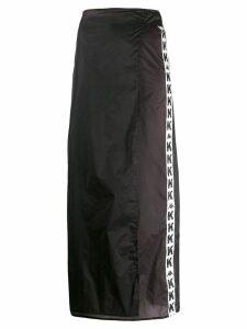 Kappa Kontroll logo tape skirt - Black