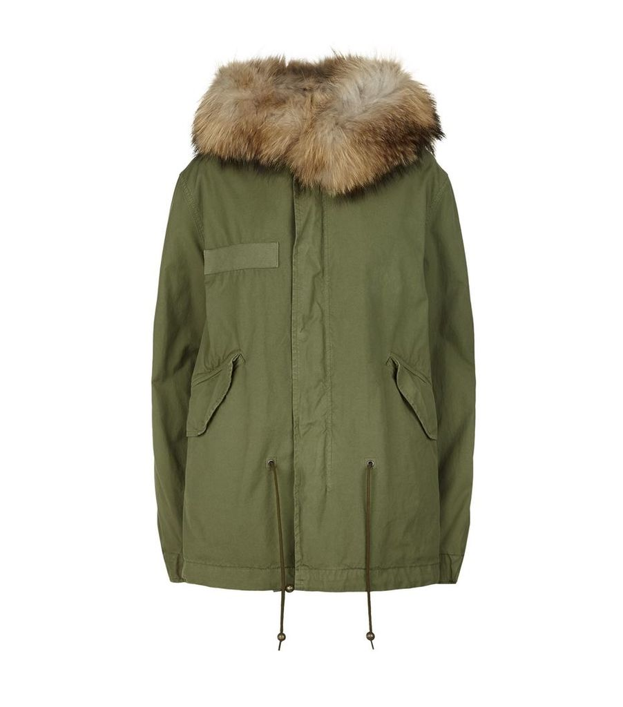Quilted Mini Army Parka