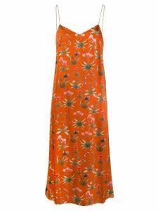 Seren Lee printed dress - Brown