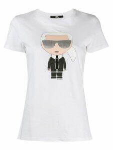 Karl Lagerfeld Ikonik Karl T-shirt - White