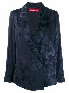 Guardaroba floral print blazer - Blue