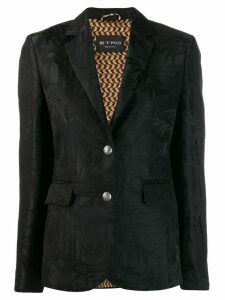 Etro jacquard blazer - Black
