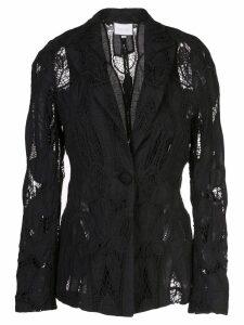 Alexis Durham lace blazer - Black