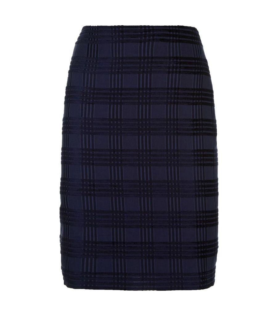 Square Jacquard Skirt