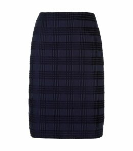 Square Jacquard Skirt