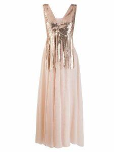 So Allure sequin embellished tulle dress - Pink