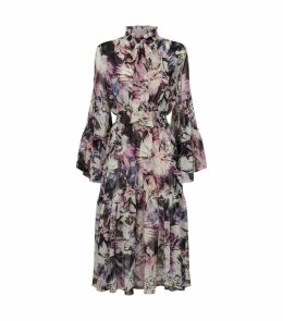 Merce Floral Midi Dress