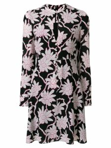 Valentino floral print dress - Black