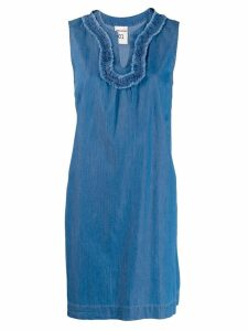 Semicouture sleeveless mini dress - Blue