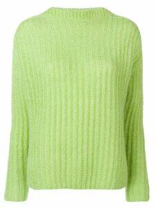 Marni ribbed knit sweater - Green