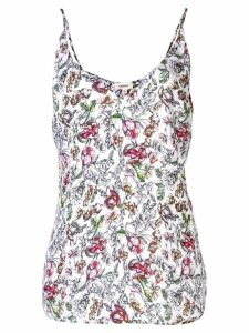 L'Agence floral sketch top - Multicolour