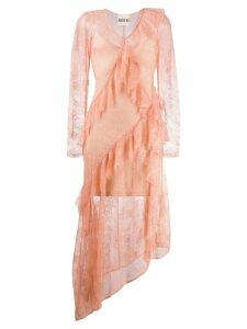 Aniye By lace asymmetric dress - Pink