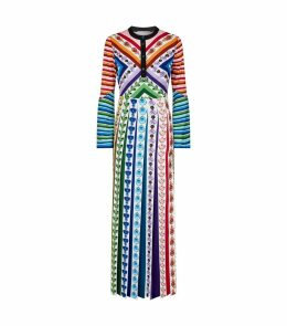 Desmine Perfume Bottle Maxi Dress