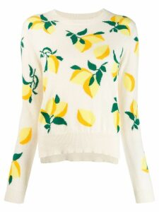 Chinti & Parker lemon print sweater - Neutrals