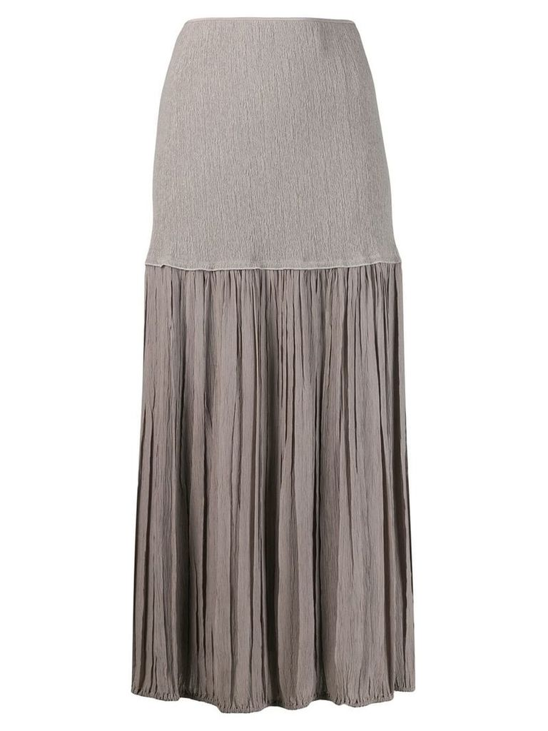 Chloé layered skirt - Grey