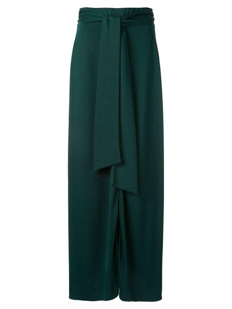 Layeur tie waist skirt - Green