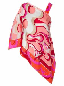 Emilio Pucci Copacabana Print Silk Top - Pink