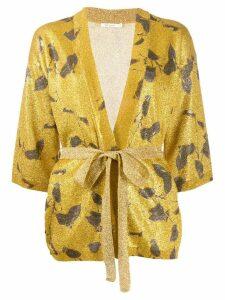 Mes Demoiselles Grimmy glitter kimono - Gold