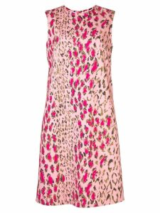 Carolina Herrera leopard print dress - PINK