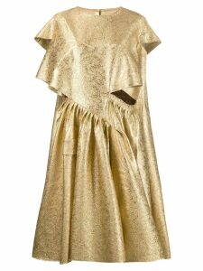 Maison Margiela abstract dress - Gold