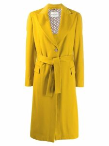 Etro tie waist coat - Yellow