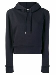 A Plan Application structured shoulder hoodie - Blue