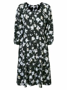 Dorothee Schumacher floral print dress - Black
