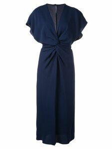 Prabal Gurung Jackie knot detail dress - Blue
