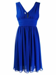 Blanca ruched detail dress - Blue