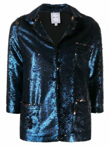 In The Mood For Love Sofia sequined blazer - Blue