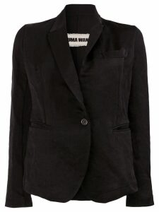 Uma Wang single button blazer - Black